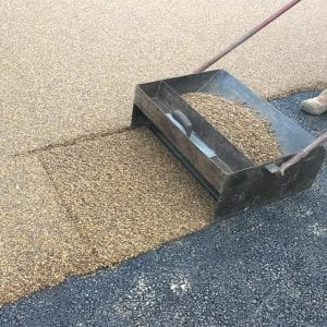 Resin Bound Gravel - A Forced Action Mixer Application