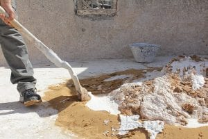 Sand & Cement - A Forced Action Mixer Application
