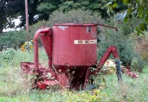 Tractor Powered Forced Action Mixer